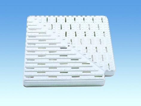 Угловые элементы 90° из ABS-пластика, В 35 мм, Ш 195 мм
