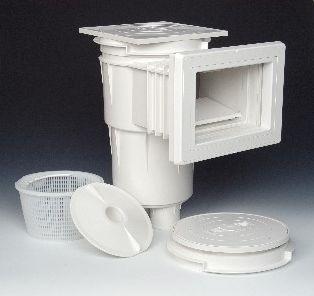 Скиммер для бетонного бассейна из ABS-пластика