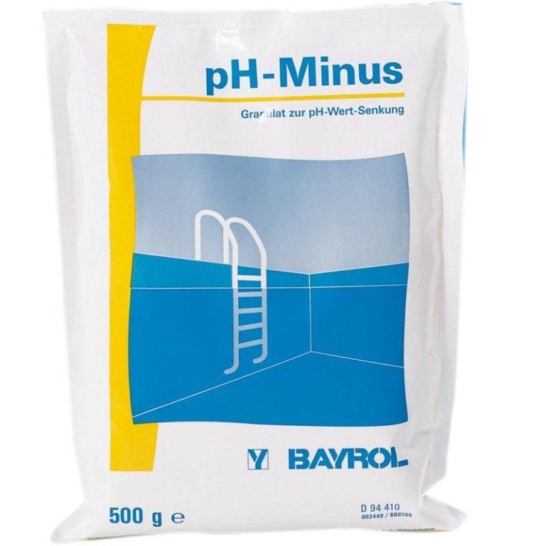 BAYROL рН минус, 0,5 кг