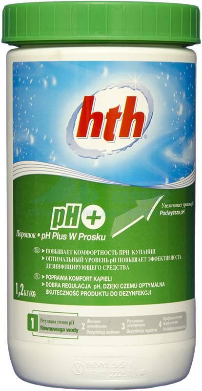 Hth Порошок pH плюс, 1,2 кг